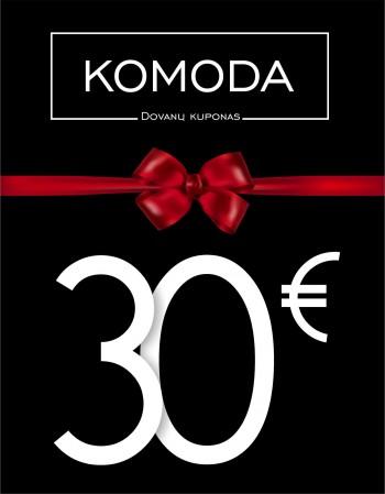 Trisdešimties eurų vertės dovanų kuponas