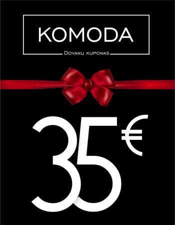 Trisdešimt penkių eurų vertės dovanų kuponas