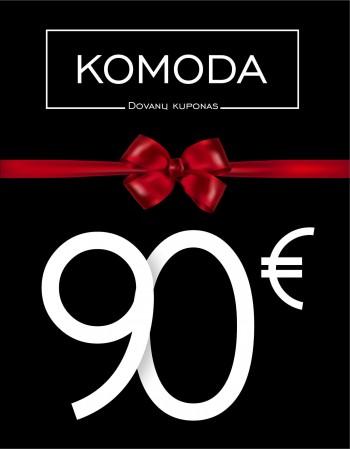 Devyniasdešimties eurų vertės dovanų kuponas
