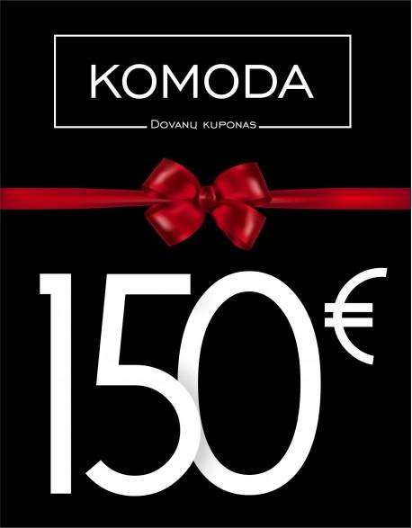 Šimto penkiasdešimteis eurų dovanų kuponas
