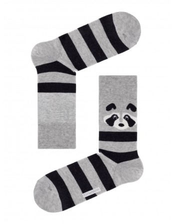 """Happy Grey Zebra"""