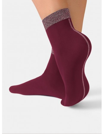 "Women's socks ""Fantasy Bordo"""