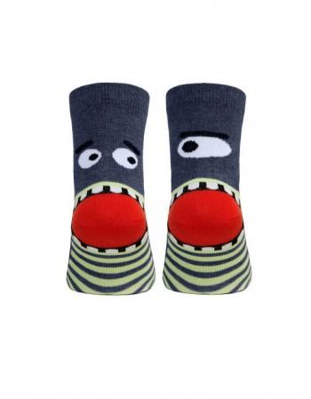 """Children's socks """"Shark"""""""