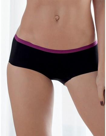"Women's Panties Short "" Hiphuggers Black"""
