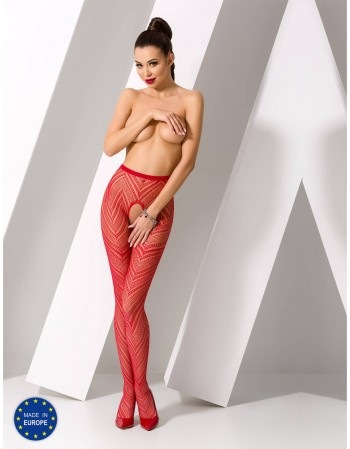"""Stockings with belt """"Catrice Red"""""""