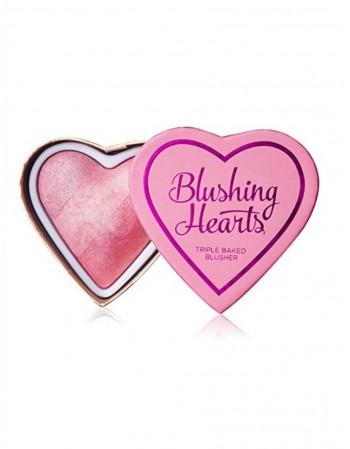 Skaistalai MakeUp Revolution I LOVE MAKEUP Blushing Hearts