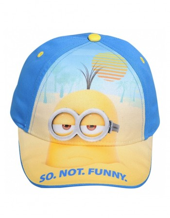 """Children's hat """"Minions so not funny"""""""