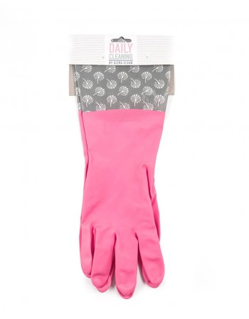 "Rubber gloves ""Pinky Clean"""