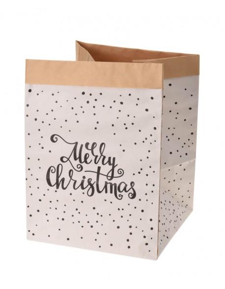 """Popierinis Krepšys """"Merry Christmas"""", 40 cm"""
