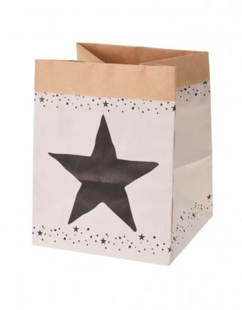 """Popierinis Krepšys """"Star"""", 20 cm"""