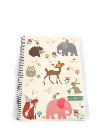 "Notebook ""Animals School"""
