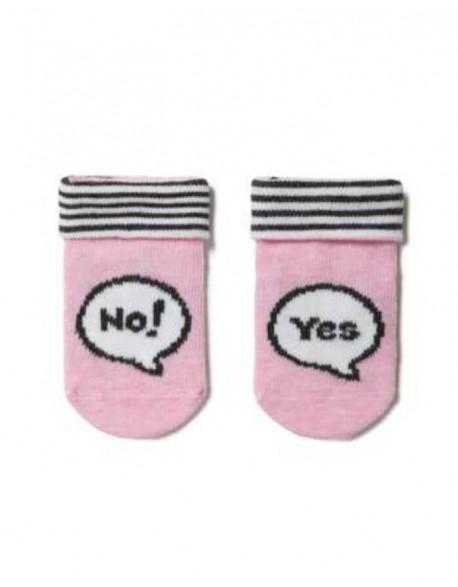 """Vaikiškos kojinės """"Yes and No"""""""