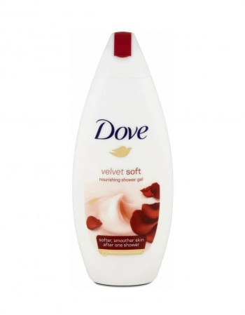"Dušo Želė ""Dove Velvet Soft"", 250 ml"