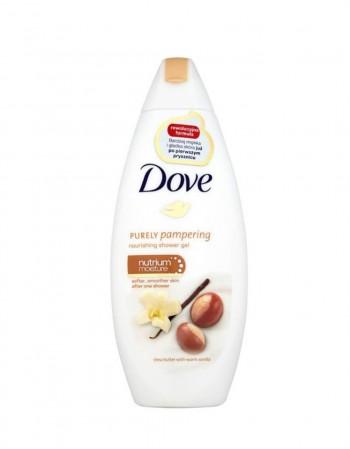 """Dušo Želė """"Dove Shea Butter & Warm Vanilla """", 250 ml"""