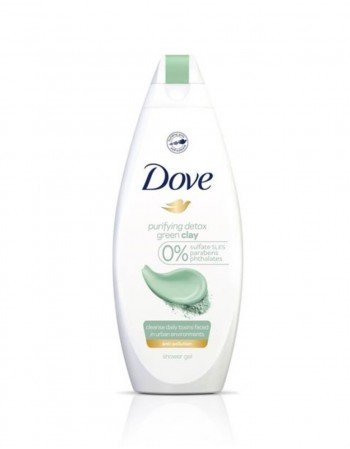 "Dušo Želė ""Dove Green Clay"", 250 ml"