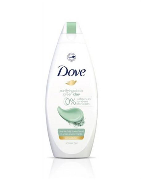 "Dušo Želė ""Dove Green Clay"", 250 ml"