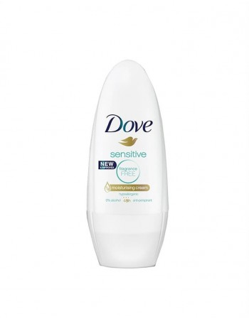 "Moteriškas Antiperspirantas ""Dove Sensitive"", 50 ml"