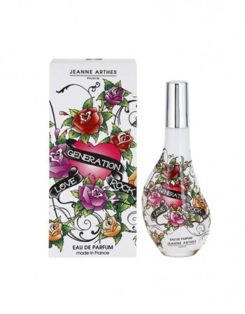 "Perfume For her JEANNE ARTHES ""Love Generation Rock"" EDP 60 Ml"