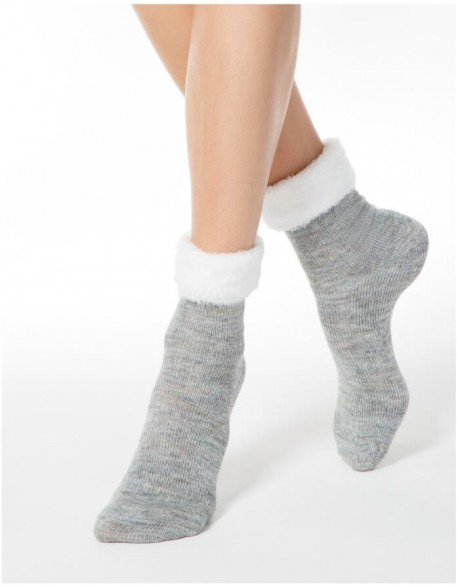 "Moteriškos kojines "" Comfort Elegant Grey"""