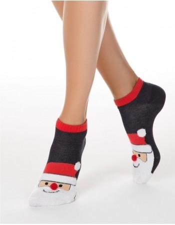 "Women's socks ""Santa"""