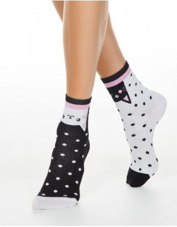 """Women's socks """"Happy Cats"""""""