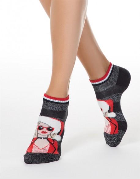 """Moteriškos kojinės """"Santa Lady"""""""