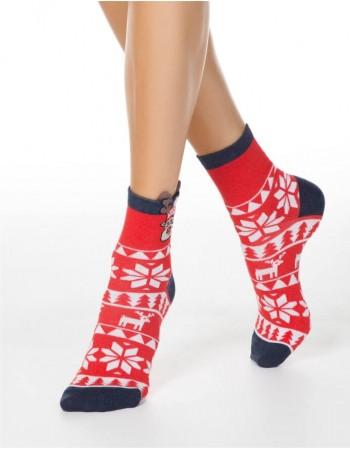 """Moteriškos kojinės """"Christmas Mood"""""""