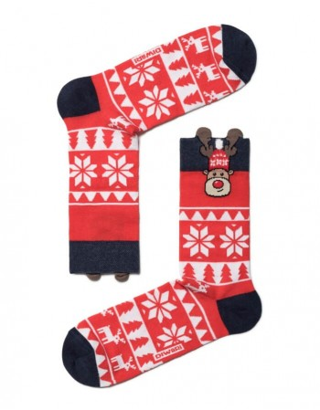 "Мужские носки ""Christmas Deer"""