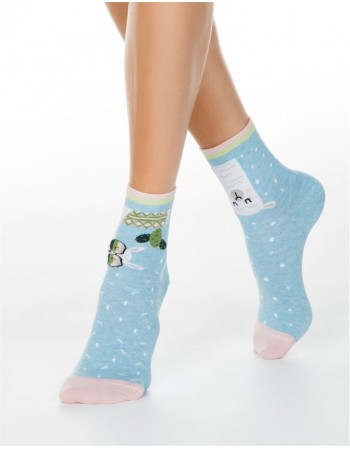 "Women's socks ""Holly Jolly"""