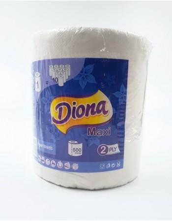"""Paper towel """"Diona"""" 2 plies, 500 sheets"""