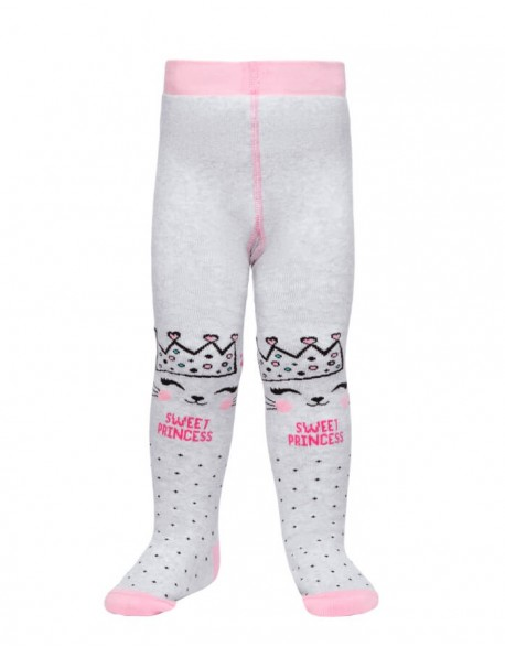 """Tights For Children """"Sweet princess grey"""""""