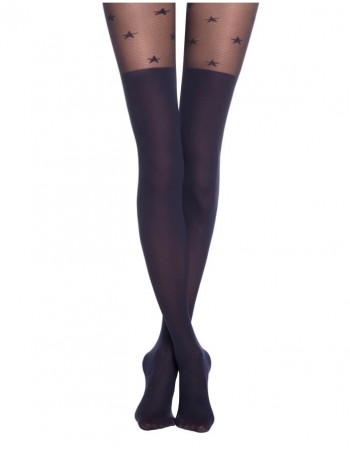 "Women's Tights ""Starlight marino"""