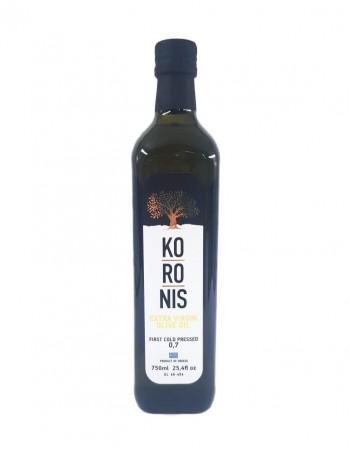 """Масло оливковое экстра вирджин """"Koronis"""", 750 мл, стеклянная бутылка"""