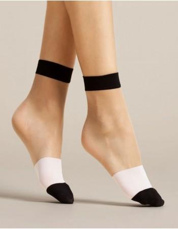 """Женские носочки """"Bicolore"""" 15 Den"""