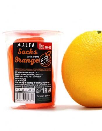 """Мужские носки """"Happy Orange"""""""