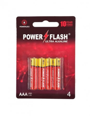 Baterijas POWER FLASH AAA LR03 1.5V