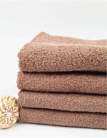 Worsted Cotton Towel ''Brown''