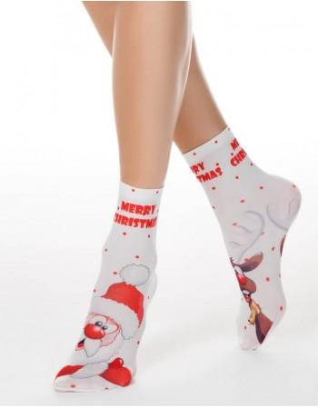 """Носки женские """"Happy Christmas"""""""