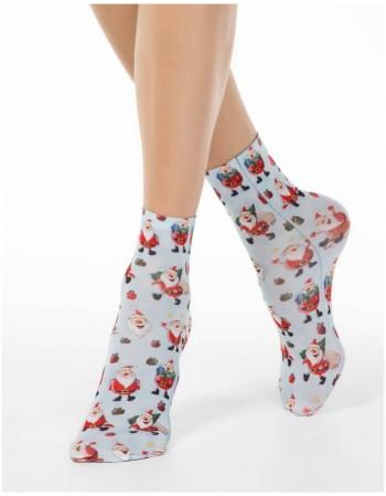 "Женские носки ""Santa Christmas"""