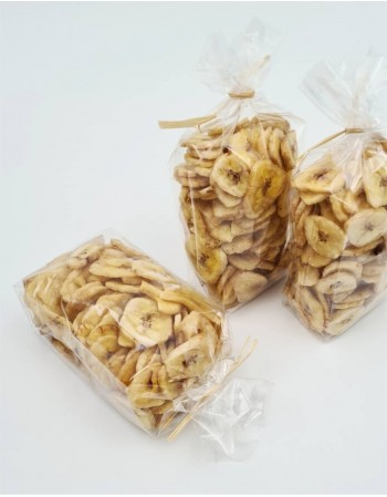 Dried Banana Chips, 150g