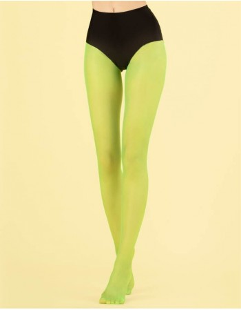 """Women's Tights """"Candy Lime"""" 8 Den"""