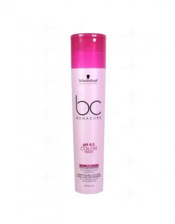 Matu šampūns SCHWARZKOPF BC pH 4.5 Color Freeze