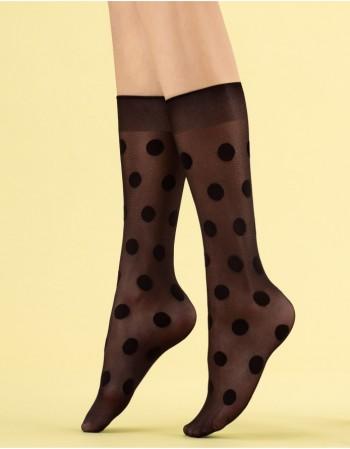 """Women's socks """"Playful Black"""" 8 Den"""