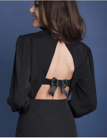 "Back bra covering bow ""Betta"""