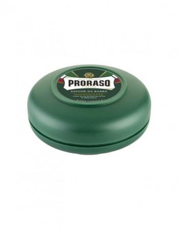 Skūšanās ziepes PRORASO Green 75 ml