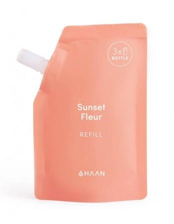 "Hydrating Hand Sanitizer's Refill HAAN ""Sunset Fleur"" 100ml"