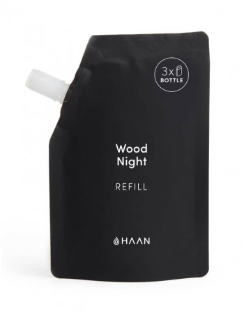 "Hydrating Hand Sanitizer's Refill HAAN ""Wood Night"" 100ml"