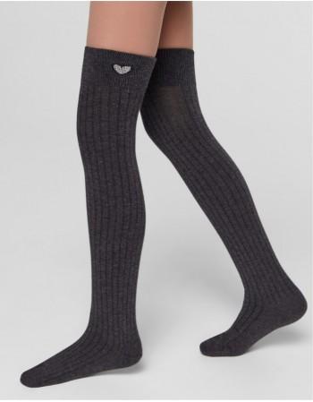 "Children's socks ""Longy Dark Grey"""