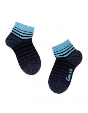 """Children's socks """"Blue Lines"""""""