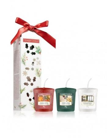 Ароматическая свеча YANKEE CANDLE, Magical Christmas Morning Kit 3vnt., 49 g